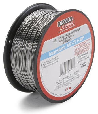 Lincoln Electric ED030584 Inner Shield NR-211 Flux-Core Welding Wire, .035-In. - Quantity 5