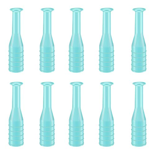Hard Contact Lenses Remover Inserter Suction Stick, Contact Plunger RGP Plunger for Soft Hard Lenses (5 White/5 Green)