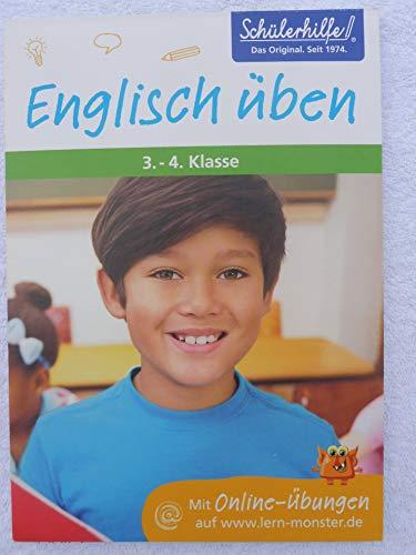 Lernblock Englisch üben, 3.-4. Klasse