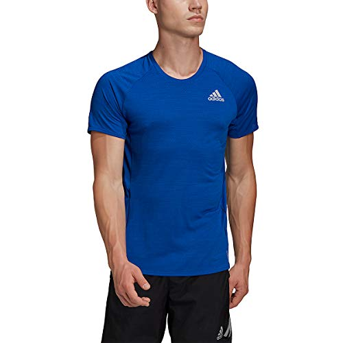 adidas Men's Standard Runner Tee, Team Royal Blue, S