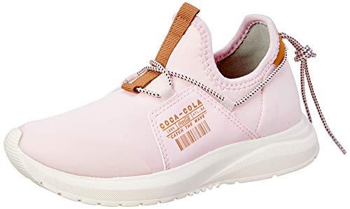 Tênis Coca-Cola Shoes, Utah, feminino, Rosa/Caramelo, 36