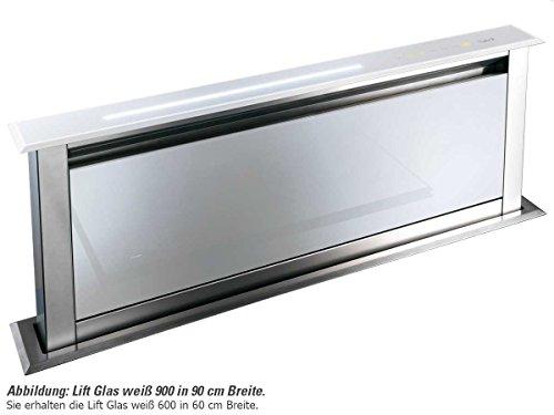 Best Downdraft Lift plus Glas 600 / 7756005 58cm Tisch-Dunstabzugshaube