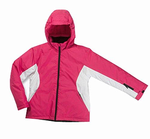 Generieke kleine kinderen meisjes sneeuwjas ski-jas snowboardjas roze wit 110/116