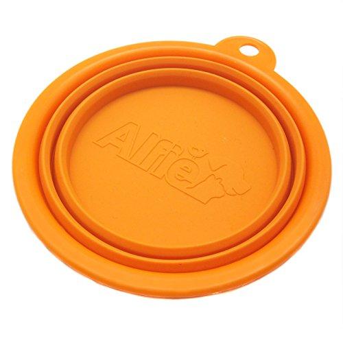 Alfie Pet  ROS Pet Expandable/Collapsible Travel Bowl  Size: 15 Cups Color: Orange
