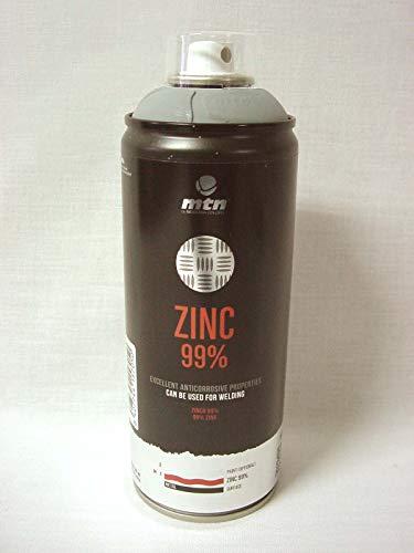 BOTE SPRAY ZINC PURO 99% EVITA CORROSION OXIDO METAL ACERO
