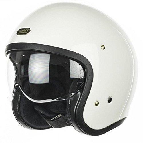 Shoei J.O. Off Helm weiß für Motorrad, Größe M
