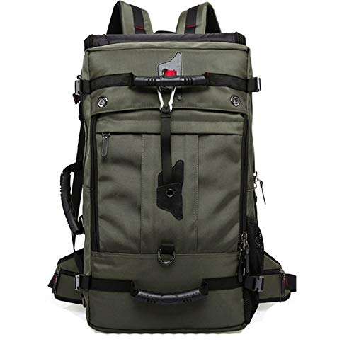 Hiking Backpack 40L, Waterproof Backpack Hiking Backpack Travel Backpack with Rain Cover, Hiking, Mountaineering And Travel Sports,Green