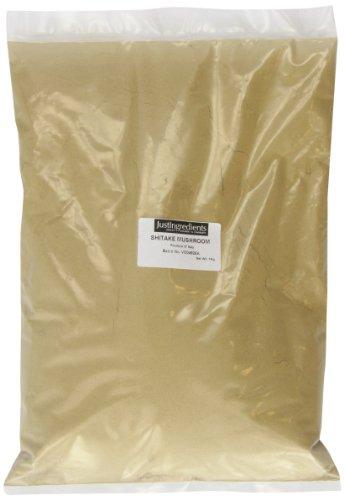 JustIngredients Essential Mushrooms Setas Shiitake en Polvo - 1000 gr