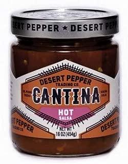 Desert Peppers Cantina Salsa Roja 454g - Hot