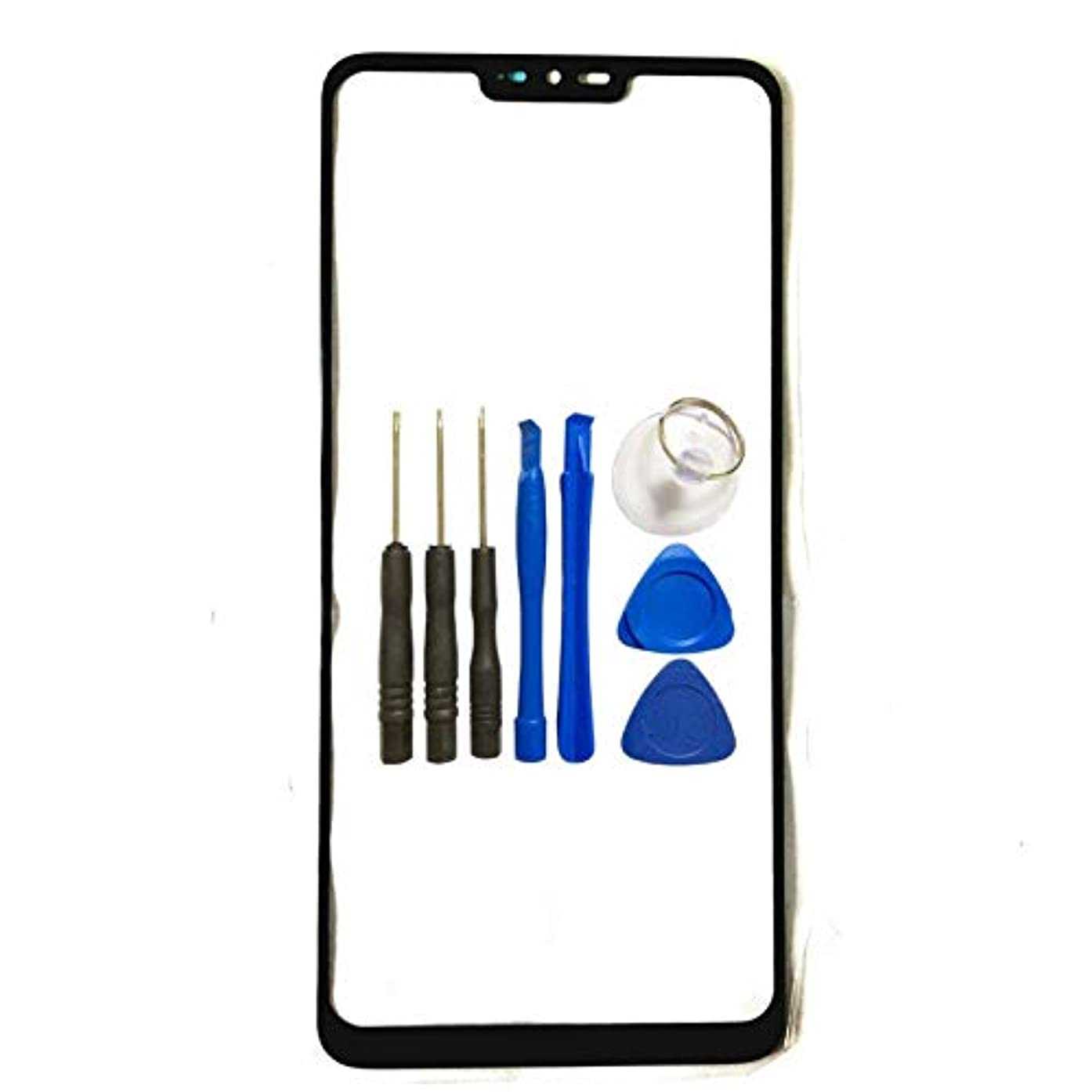Screen Glass Panel Lens Replacement for LG G7 - Screen Glass Panel Lens Replacement for LG G7 G710ULM G710VMX G710PM LMG710TM LMG710VM with Opening Tools (Not LCD&Not Digitizer) …