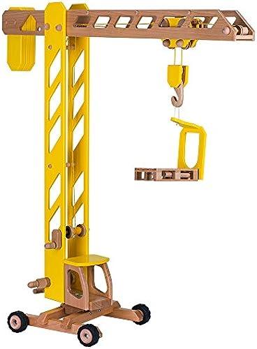 Goki 55937 - Baukran Spielzeug