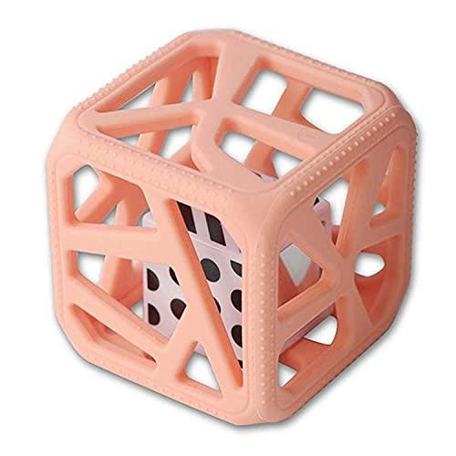 Sevira Kids - Cube de dentition - hochet à mâcher - jouet d'éveil