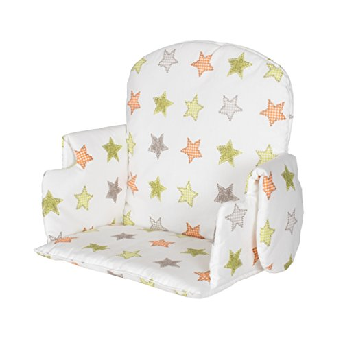 Geuther - Sitzverkleinerer 4742 für Family, Nico und Mucki, Sterne orange