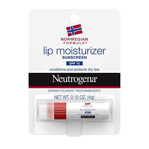 Neutrogena Lip Moisturizer SPF 15, 0.15 Ounce,6 Count