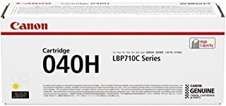 Canon 0455C001AA High Yield Toner Cartridge, Yellow
