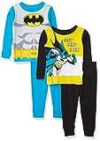 DC Comics Boys' Batman Snug Fit Cotton Pajamas, Best Hero, 18M