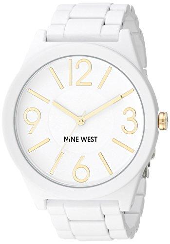 Nine West Reloj de Pulsera NW/1678WTWT