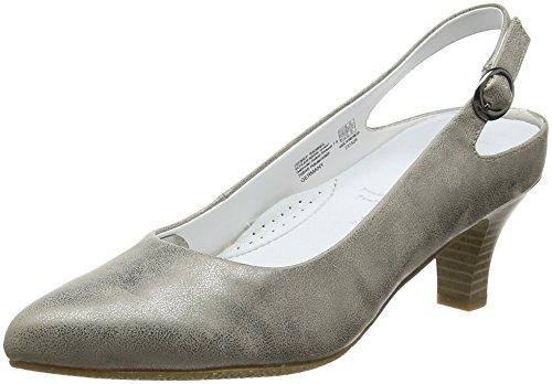 Gerry Weber Shoes Damen Caravella 02 Slingback Pumps, Grün (Khaki), 37 EU