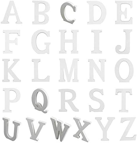 Industry No. 1 Luxury goods Decorative Letters and Numbers 15cm 1 pièces blanches Lettres