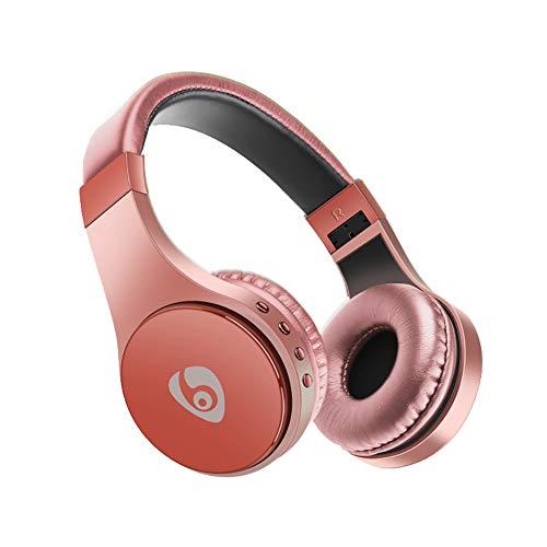 QLMY Anti-zweet Bluetooth Wireless Active Noise Cancelling hoofdtelefoon met Hifiso microfoon 710 Sten speelduur 15h afspeeltijd Soft Memory Proteïne oorkussens voor reizen mobiele telefoon