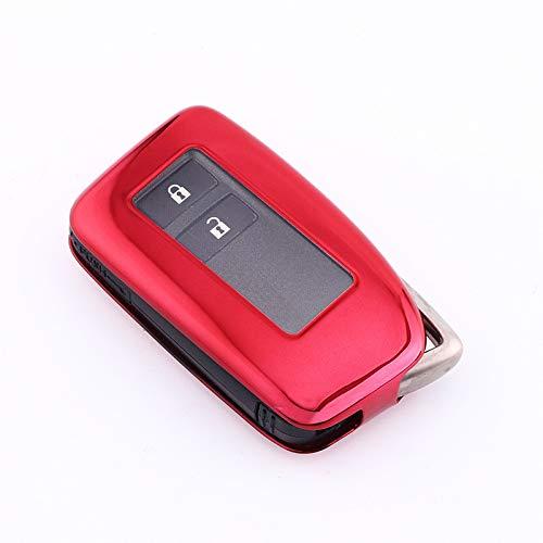 Cubierta de la caja de la llave del coche Adecuado para Lexus NX GS RX es ES ES GX LX RC 200 250 350 LS 450H 300H Auto Auto Accesorios para automóviles para Cubiertas de cáscara de automóvil Caja de c