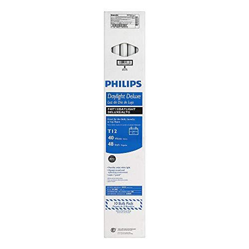 10-Pack 4-Feet Philips 453597 InstantFit 32-watt Equivalent T8 LED Tube 3500K Light Bulb