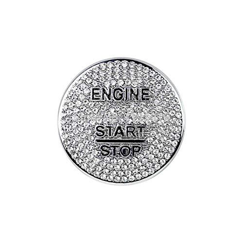 Phoenixset Fit für Mercedes Benz AMG A B C GLC GLC GLA CLA ML-Klasse W176 W246 W205 x253 x156 C117 Motorstart Stop Zündschlüsselring Diamantbesatz