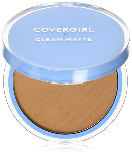 COVERGIRL Clean Matte Pressed Powder Tawny 10 g (Packaging may vary)