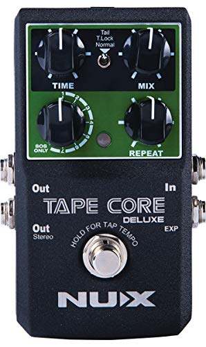 NUX | Tape Core Deluxe Tape Echo Effects Pedal, TAPECDLX