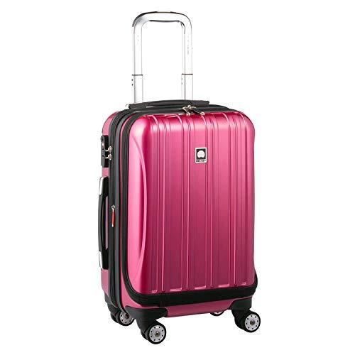 DELSEY(デルセー) スーツケース 機内持ち込み フロントオープン キャリーケース 大容量 静音 拡張可能 helium aero sサイズ/中型mサイズ/大型lサイズ 5年間保証 42+5L&パープル