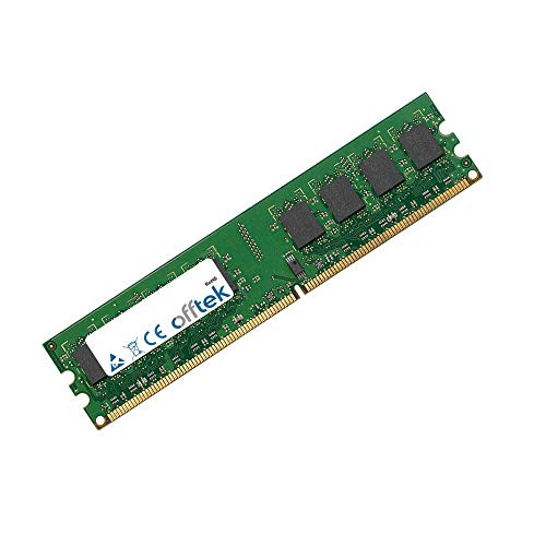 OFFTEK 1GB Memoria RAM di ricambio per Acer Aspire E571 (DDR2-6400 - Non-ECC) Memoria Desktop