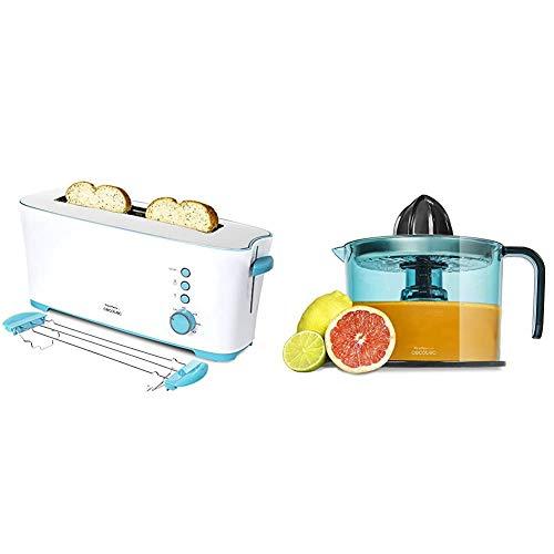 Cecotec Toast&Taste 1L - Tostadora con Capacidad para dos Tostadas, Ranura XL...