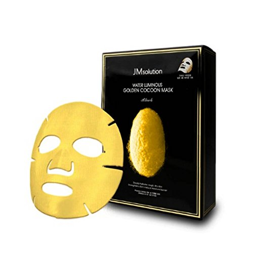 JMsolution Water Luminuous Golden Cocoon Mask Black 45g x 10ea