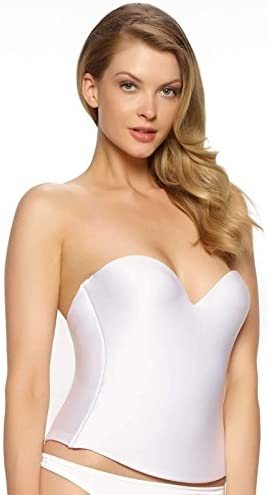 Felina Essentials Seamless Hidden Wire Bra Style 7643 White 40B product image