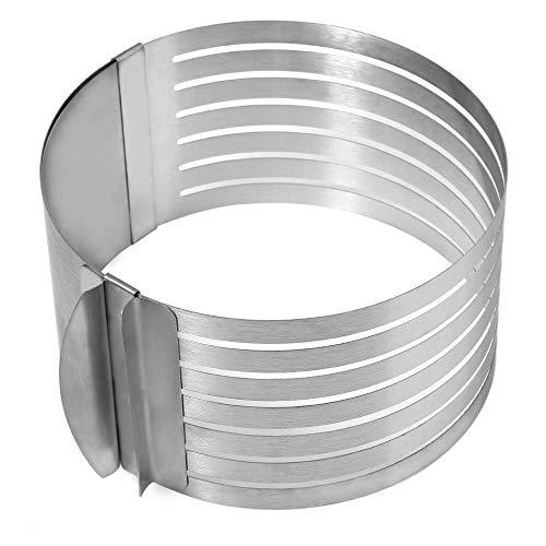 Ndier - Cortador de molde retráctil de acero inoxidable par
