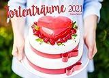 Edition Seidel Tortenträume Premium Kalender 2021 DIN A3 Wandkalender Essen Schokolade Kuchen Torte Dessert Süßigkeiten Food Backen