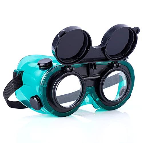 Occhiali per saldatura Occhiali di sicurezza Protezione per gli occhi Protezione per saldatore Fascia regolabile Protezione antiabbagliamento Occhiali protettivi Accessori per saldatura