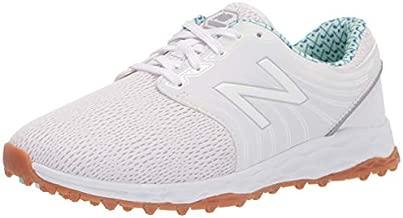 New Balance Women's Fresh Foam Breathe Golf Shoe, White/Blueprint, 8