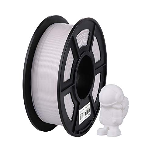 ANYCUBIC 3Dプリンター用 造形 フィラメント pla 高品質 高密度 環境保護 純正材料 【1.75mm】【正味1kg】(ホワイト)