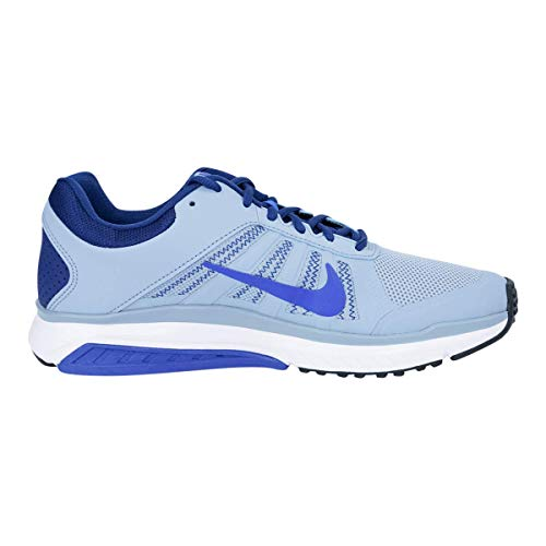 Nike Men's Dart 12 MSL Running Shoes Grey/Cobalt/Costal Blue 10.5