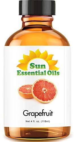 Grapefruit Essential Oil (Huge 4oz Bottle) Bulk Grapefruit Oil - 4 Ounce