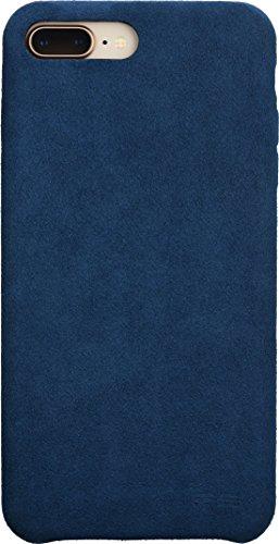 Power Support Ultrasuede Air Jacket Custodia Protettiva per Apple iPhone 7Plus/8Plus–Blu [Panno in Superficie i Qi Compatibile I Perfetta adattabilità I Molto Sottile e Ultra Leggero]–PBK di 81