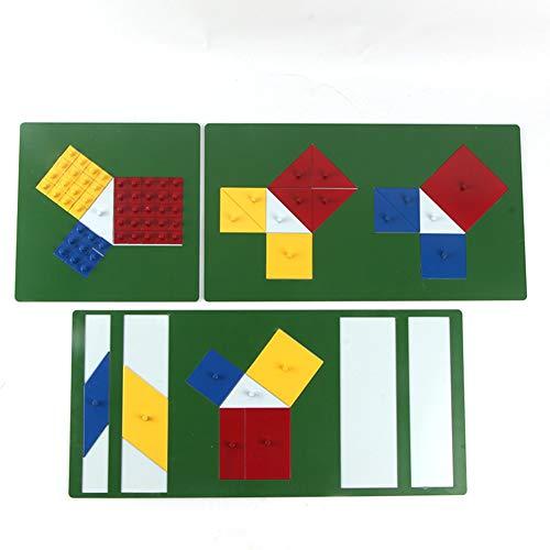 Wumudidi Pythagoras Puzzle - Aktivitäten Für Young Fortgeschrittene - STEM Lernen - Grundformen, Ähnlichkeit, Geometrie Und Algebraische Proofs