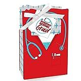 Big Dot of Happiness Nurse Graduation - Medical Nursing Graduation Party Favor Boxes - Set of 12
