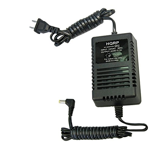 HQRP AC Adapter Compatible with Line 6 Bass POD XT XTL, FloorPod, Floor-Pod Plus, JM4 Looper, Micro Spider, POD xt Live Power Supply Cord Line-6 SY-09200A 11-32-0000 Transformer + HQRP Coaster