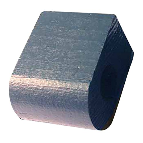 "Curtain Rod Coupler Support Blue Pine 3"" Projection 