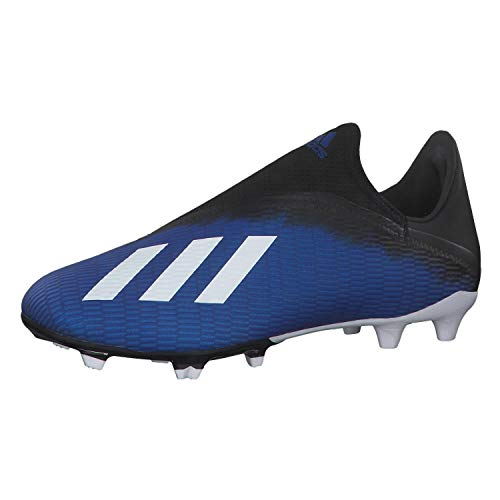Adidas X 19.3 LL FG, Zapatillas Deportivas Fútbol Hombre, Azul (Team Royal Blue/FTWR White/Core Black), 46 EU
