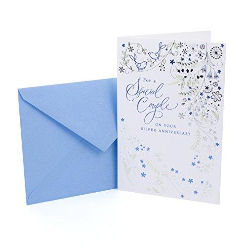Hallmark 25th Anniversary Card (Silver Wedding Anniversary)