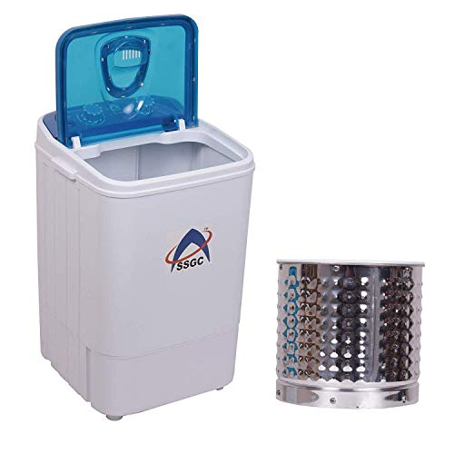 SSGC Single Tub Washing Machine with Steel Dryer Basket (4.6kg,...