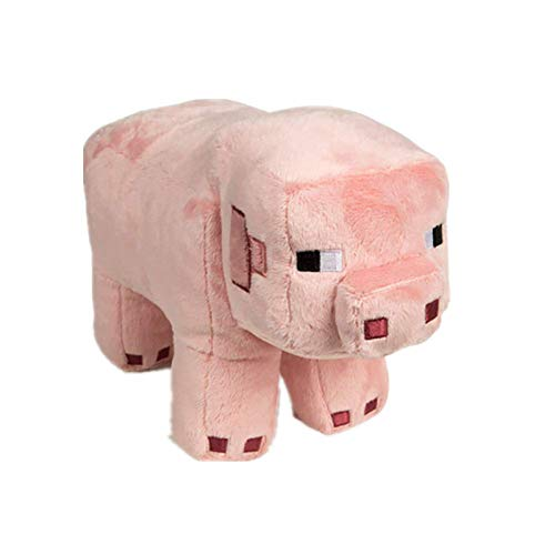 JXINGY Juguete de Peluche 28cm Pink Pig Stuffed Doll Soft Stuffed Kids Birthday Gift Decoration